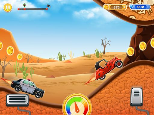Kids Car Hill Racing: Games For Boys screenshots 2