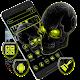 Neon Horror Skull Theme Download on Windows