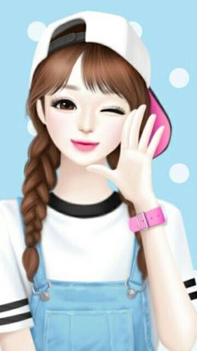 Cute Laura Wallpaper HD 4K screenshot 1
