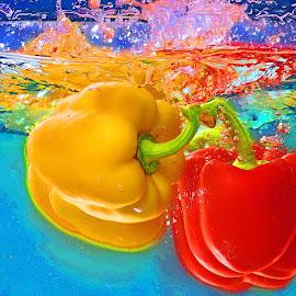 poivrons by Nathalie Coget - Food & Drink Fruits & Vegetables