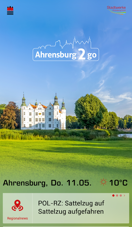 Ahrensburg2go- screenshot