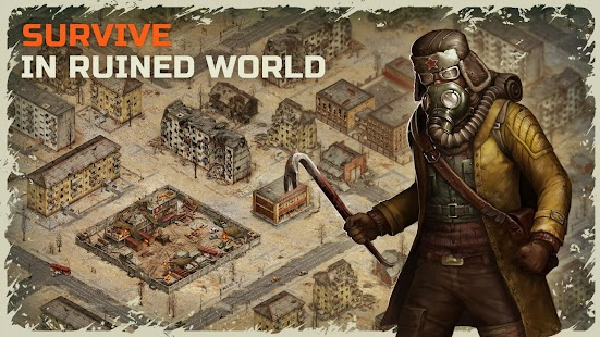 Day R Survival – Apocalypse, Lone Survivor and RPG Ekran Görüntüsü