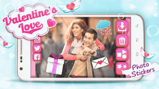 バレンタインデー かわいいステッカ|玩娛樂App免費|玩APPs