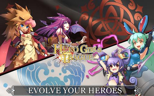 Hero Girls League - Fantasy RPG 1.0.2 Mod screenshots 3