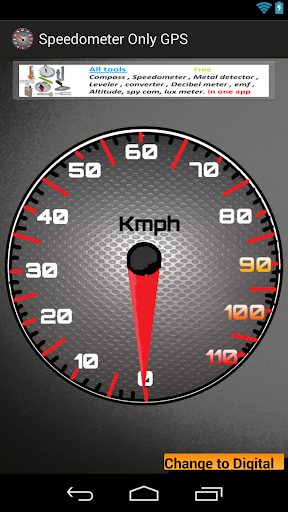 Speedometer Only GPS