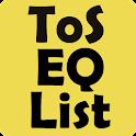 Equipment List Tree of Savior icon