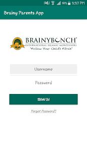 Brainy Parents App screenshot