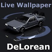Live Wallpaper DeLorean Free