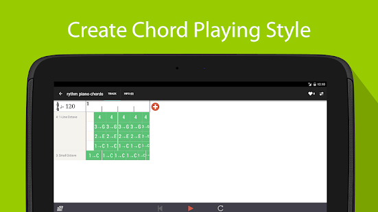 Songtive: Compose on Walk- screenshot thumbnail
