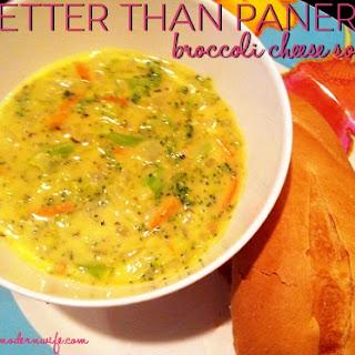 Better Than Panera Broccoli Cheese Soup