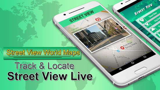 Location Satellite View StreetView Live Earth Maps Android Apps - Satellite map of my location