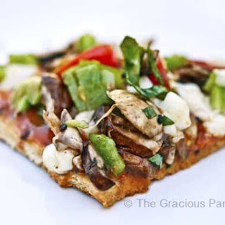 Clean Eating BBQ Pizza Recipe