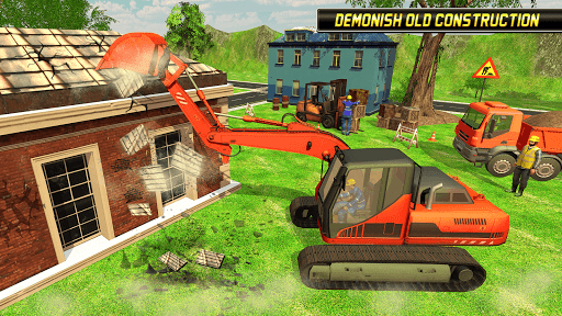 Heavy Excavator Simulator 2018 - Dump Truck Games screenshots 1