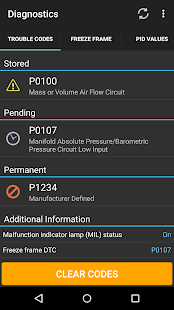 OBD Fusion (Car Diagnostics)- screenshot thumbnail