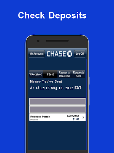 PayWith - Chase QuickPay Advice 3 screenshots 1