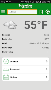 WeatherSentry® SmartPhone- screenshot thumbnail