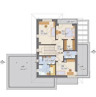 AJR 27 A2 - Rzut piętra