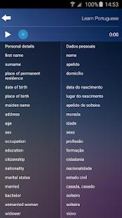 Learn Portuguese Language - Quick Audio Course