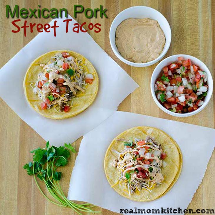 Mexican Pork Street Tacos