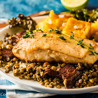 Roasted Acorn Squash and Kale