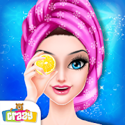 Pink Princess Makeover: Fashion Doll Salon Game
