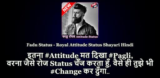Faadu Status - Royal Fadu Attitude Status Shayari - Apps on