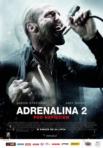 Polski plakat filmu 'Adrenalina 2. Pod Napięciem'