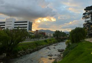 Photo: Sunset, Cuenca