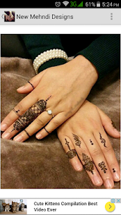 New Mehndi Designs- screenshot thumbnail