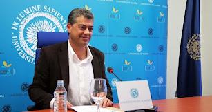 Carmelo Rodríguez, rector de la Universidad de Almería.
