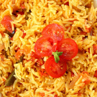 Tomato Rice - Easy and Delicious