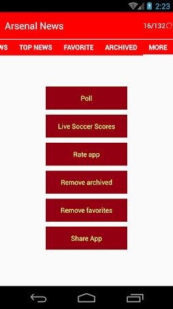 Latest Arsenal News &Transfers 5.6 screenshot 735880