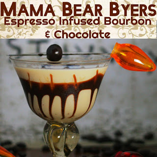 Mama Bear Byers- Espresso Infused Bourbon and Chocolate.