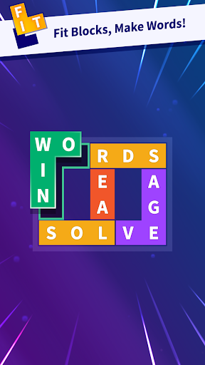 Flow Fit - Word Puzzle apktram screenshots 1