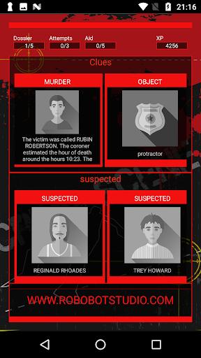 Detective Games: Crime scene investigation 1.2.7 screenshots 1