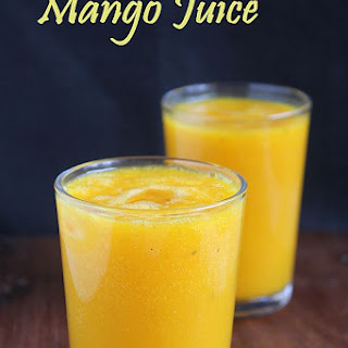 Mango Juice | Easy Summer Drinks Recipes Recipe
