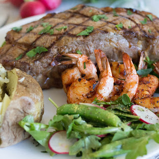 Surf 'N Turf NY Steak & Shrimp - Whole Foods Recipe