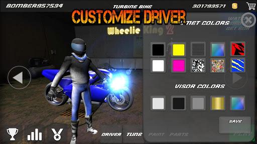 Motorbike - Wheelie King 2 - King of wheelie bikes 1.0 screenshots 6