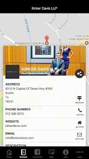 Kirker Davis LLP- screenshot thumbnail