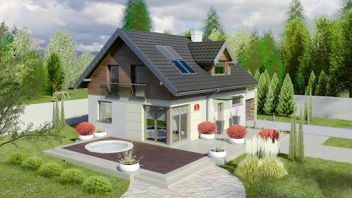 projekt Dom przy Alabastrowej