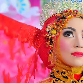 by Babang Ozand - Wedding Bride ( wedding dress, prewedding, wedding photography, closeup, wedding )