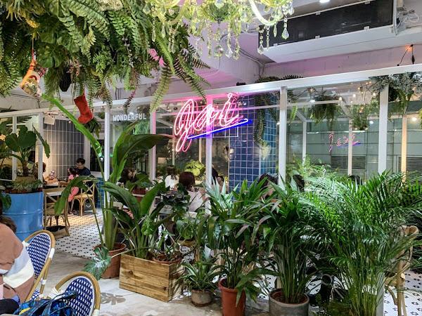 夢幻都市叢林!隱身二樓滿滿植栽的咖啡廳-JAI宅