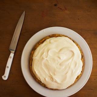 Gluten Free Carrot and Date Cake.