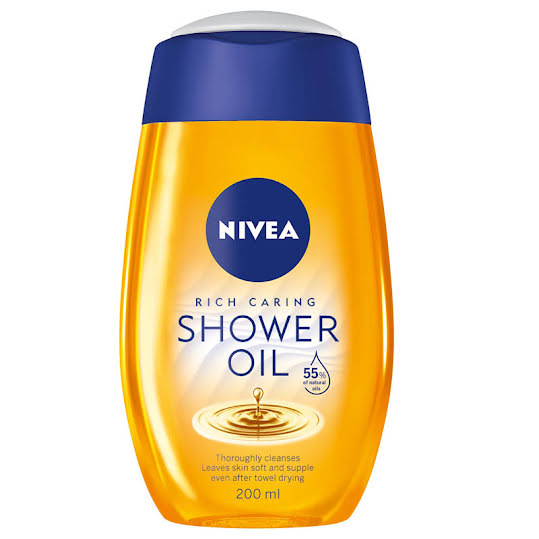 Nivea Natural Oil Shower Oil 200 ml