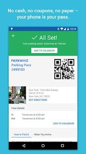 ParkWhiz: On Demand Parking - screenshot thumbnail