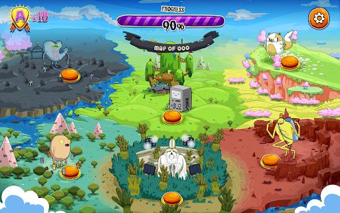 Rockstars of Ooo- screenshot