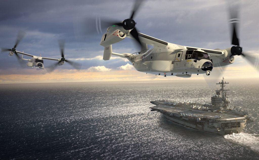 米海軍の次期CODとしてCMV-22導...