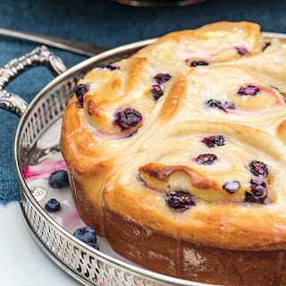 Blueberry-Lemon Cream Cheese Sweet Rolls.