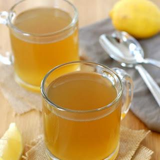 Healing Lemon Ginger Bone Broth