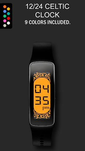 24 12 Celtic Gear Fit Clock